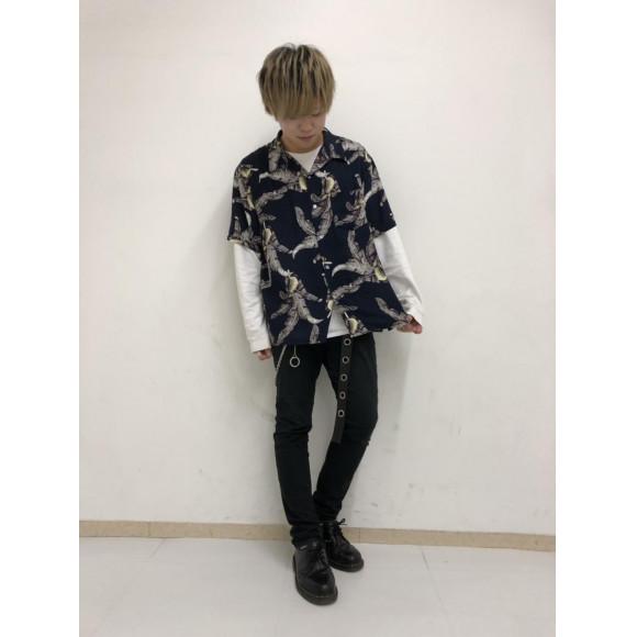 アロハシャツ(S)〜斉藤〜