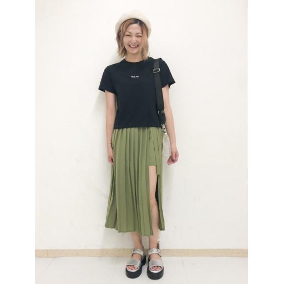 chillout刺繍ロゴT〜藤浪〜