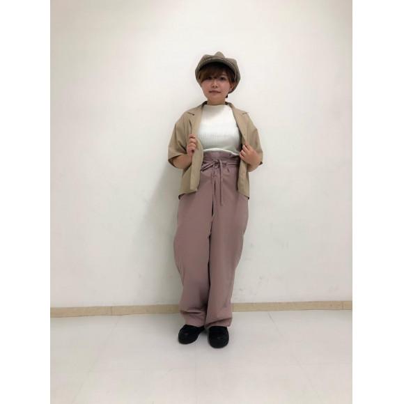 レースアップタックパンツ~兼高~