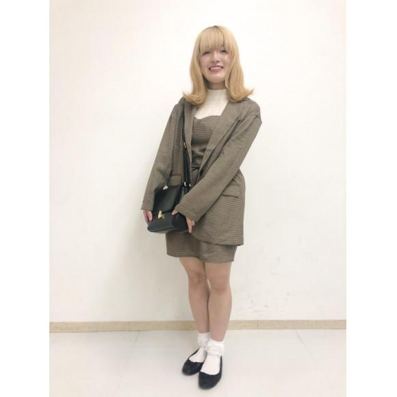 チェックBIGジャケット〜後藤〜