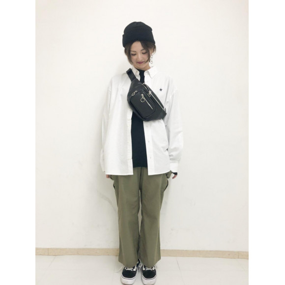 別注BHPCビックオックスシャツ〜藤浪〜