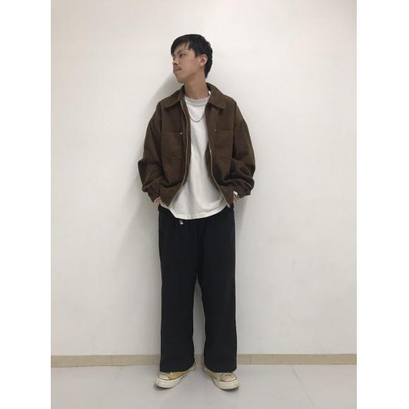 コーデュロイZIPジャケット~大久保~