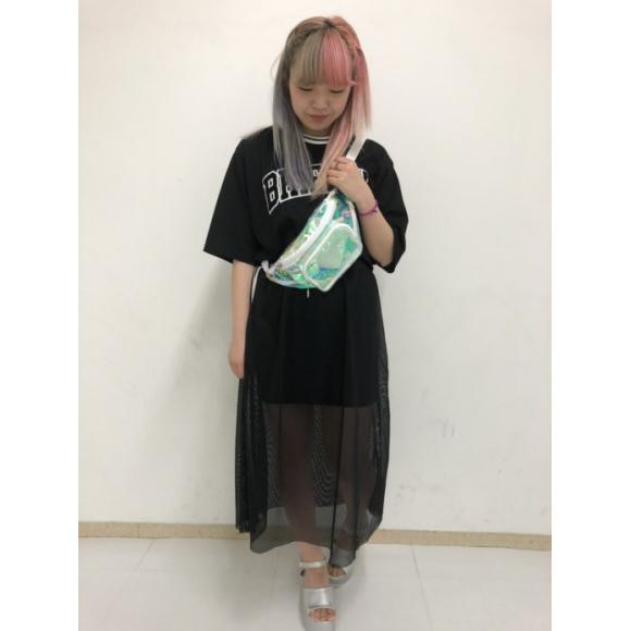 メッシュサイドラインスカート~高師~
