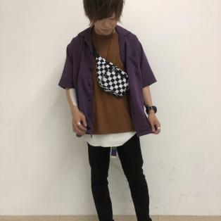 フィブリルオープンカラーシャツ~斎藤~
