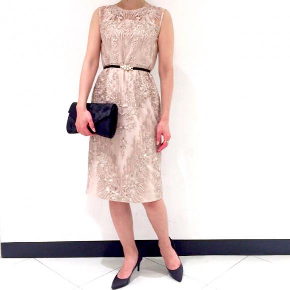 大人の女性に☆彡華やかタイトドレス