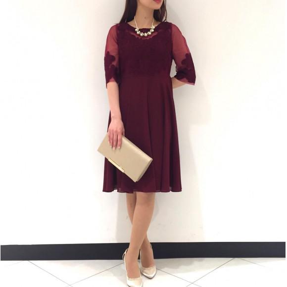 ꫛꫀꪝ✧‧˚colorオリジナルコード刺繍ドレス☆
