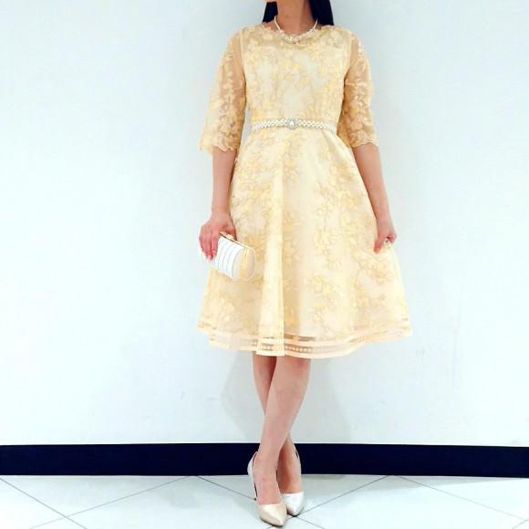 sweet掲載ドレス