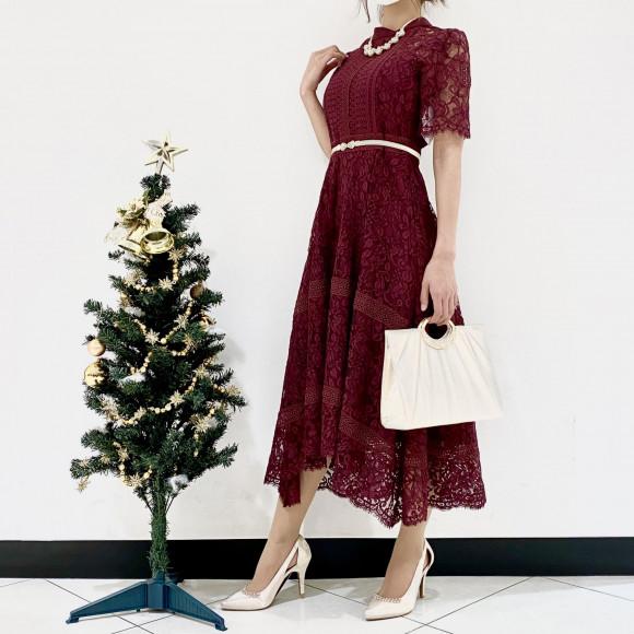 寒い季節に人気のドレスカラー☆
