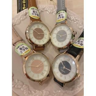 パステル時計