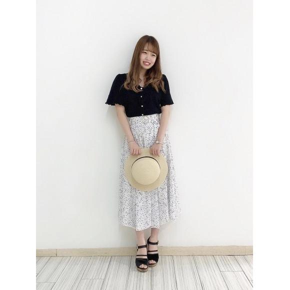 夏のフレアスカート☆