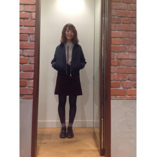 [WOVEN TRACK JACKET]&[TEXTURED KNIT SWEATER]新作アイテムでコーデ♪