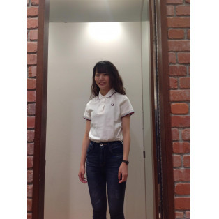 [THE ORIGINAL TWIN TIPPED FRED PERRY SHIRT]G12women's定番ポロ
