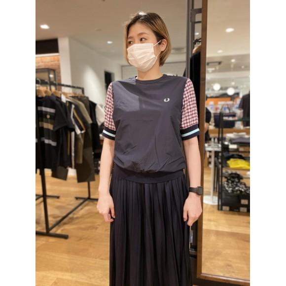 NEW☆ウィメンズ プルオーバーギンガムチェックシャツ