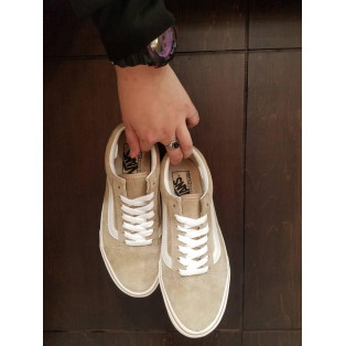 OLD SKOOL BEIGE 再入荷