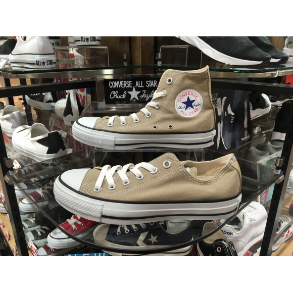 CONVERSE ALL STAR BEIGE 再入荷!!