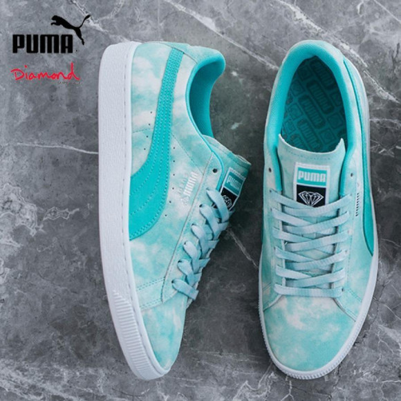 送料無料 PUMA プーマ x Diamond Supply Co. ダイヤモンド サプライ SUEDE DIAMOND SUPPLY 369396