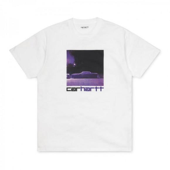 CARHARTT S/S PURPLE CAR T-SHIRT - White
