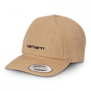 【送料無料】【Dusty H Brown】CARHARTTWIP I028165 CANVAS COACH CAP DHBROWN/BLACK カーハートダブルアイピー キャンバスコーチキャップ ディーハミルトンブラウン/ブラック