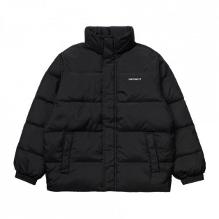 CARHARTT カーハート DANVILLE JACKET -  Black / White ダウン I028134