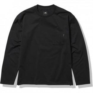 THE NORTH FACE ノースフェイス ロンT エアリーリラックスティー(メンズ) L/S Airy Relax Tee  NT62160 K(ブラック)