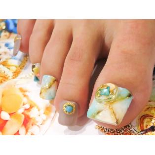 2018 summer nail☆彡