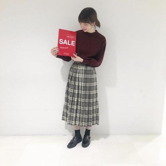 ★ PLE SALE START‼︎‼︎ 店内最大60%オフ ★
