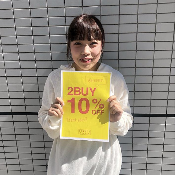★2BUY10%OFFイベントスタート★