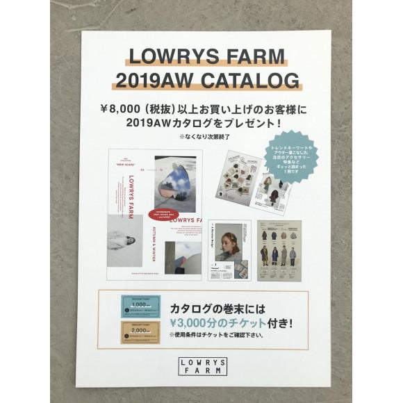 ★LOWRYSFARM★ ~2019 AW CATALOG~