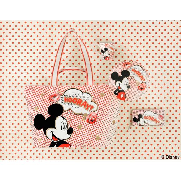 キャス キッドソンより、ミッキーマウス生誕90周年を記念したコラボレーションコレクションが発売