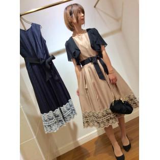 シャンタンクラシックドレス