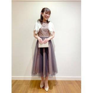 ♡オーナメント刺繍レースドレス♡