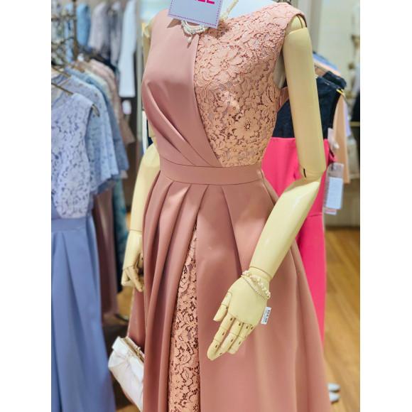 powdercolor レースドレス