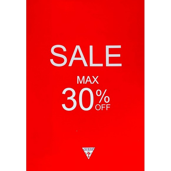 GUESS SUMMER SALE MAX30%OFF