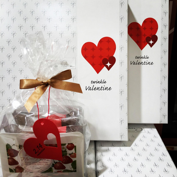 バレンタイン用のギフト