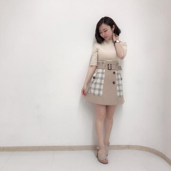完売間近‼︎大人気スカート♡
