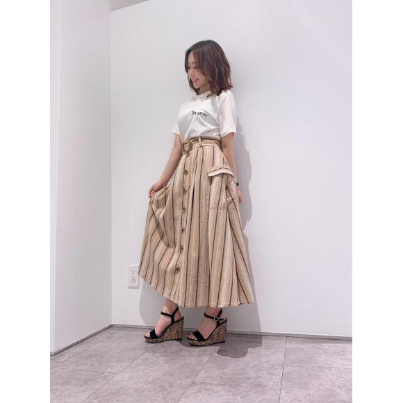 セールスカート×新作Tシャツ