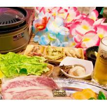 【7/17(金)OPEN】静岡パルコ ハワイアンバーベキュービアガーデン【食べ飲み放題・時間無制限】