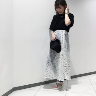 ドットスカート★