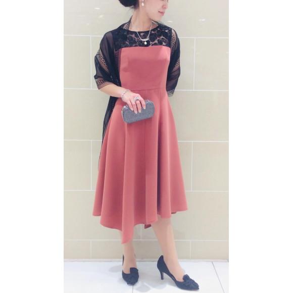 美シルエットドレス new color