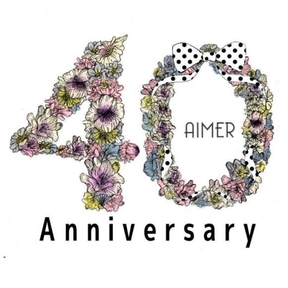 ☆AIMER 40th anniversary campaign☆開催中です‼︎