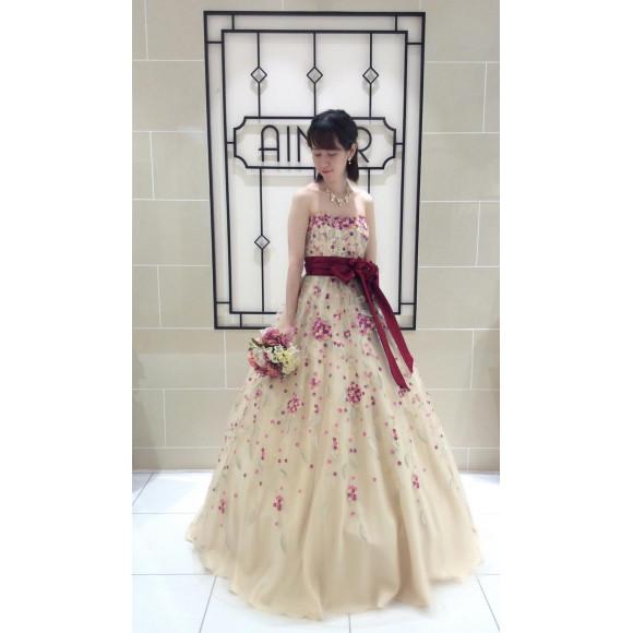 【HYDRANGEA】紫陽花をイメージした新作のカラードレスが入荷しました☆