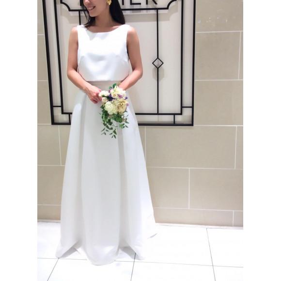 Newプチウエディングドレス♡