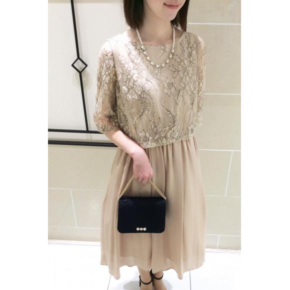 柔らかな生地感が女性らしい♡新作ドレス入荷新作ました^ ^