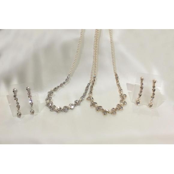 【NEW】輝きが綺麗なネックレス&イヤリング入荷致しました✨