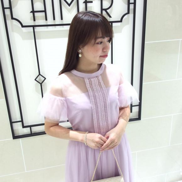 【NON-NO×Aimer】モデル江野沢愛美さんとのコラボレーションドレス✨❤︎(成人式などを迎える学生さん必見‼︎)