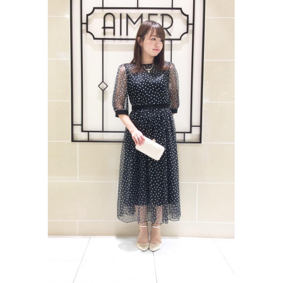 【AIMER 40th Limited Edition】40周年限定ドレス♡入荷いたしました!