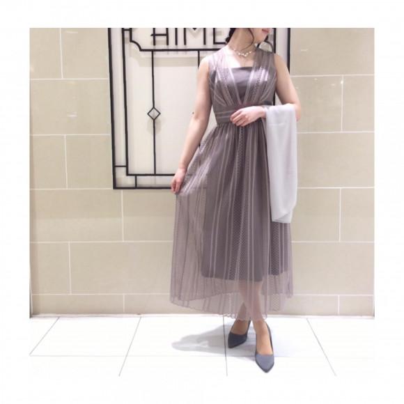 【新作ドレス】軽やかな着こなしを実現✨総レースドレス