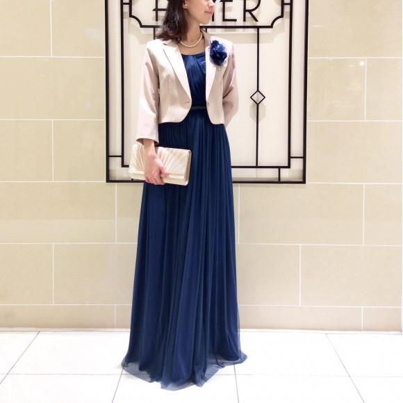 【本日最終日! カラーロングドレスSALE*】  お母様の洋装ドレス