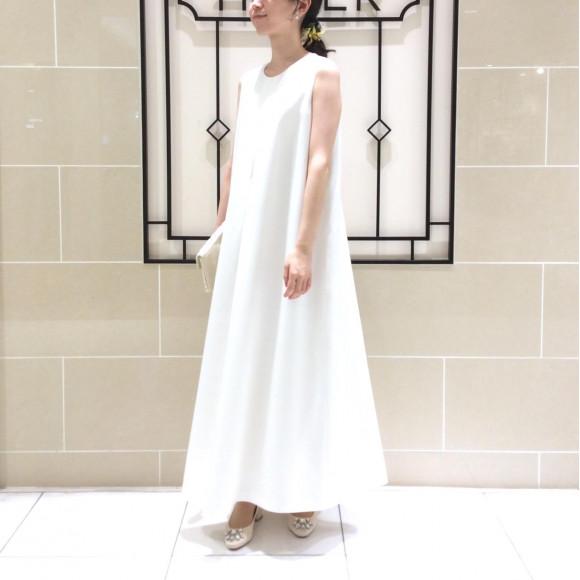 【ブライダルフェア】二次会・フォトに…♪ ナチュラルホワイトドレス*