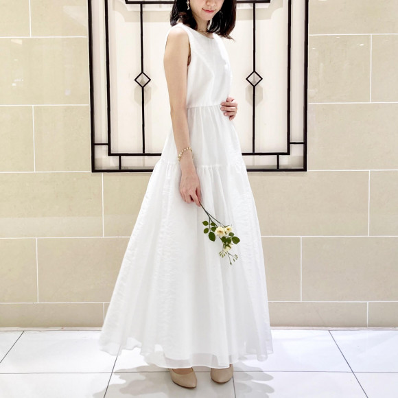 ヴィンテージ感が可愛い! 花嫁様用の白ワンピース♫    (10%OFFフェア開催中!)